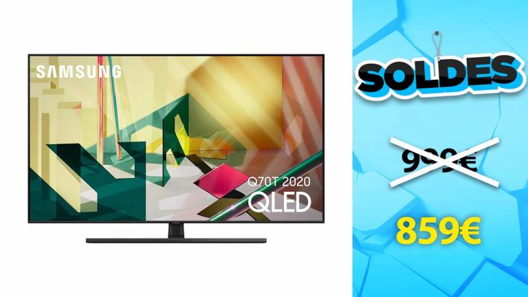 Soldes Samsung : TV QLED 2020 en promotion de 14%