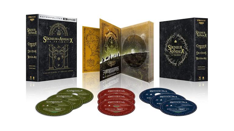Bon plan Seigneur des Anneaux : La trilogie de l'Anneau en 4K Blu-Ray disponible chez Amazon