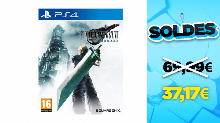 Soldes PS4 : -47% sur Final Fantasy VII Remake