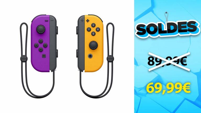 Soldes Nintendo : Paire de Manettes Joy-Con en réduction de 22% - jeuxvideo.com