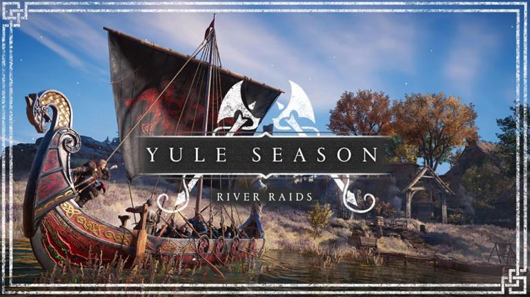 Assassin's Creed Valhalla, Saison de Yule : Attaques Fluviales, Armure de Saint George… Notre guide complet
