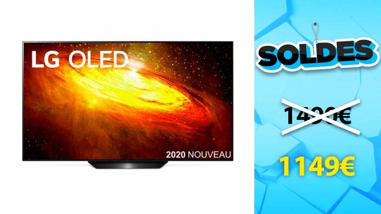 Soldes LG : TV OLED 55BX à moins de 1150€