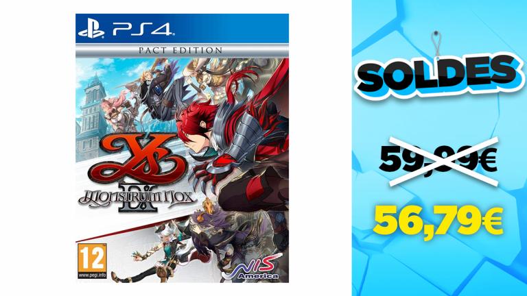 Soldes PS4 : YS IX: Monstrum Nox - Pact Edition en réduction