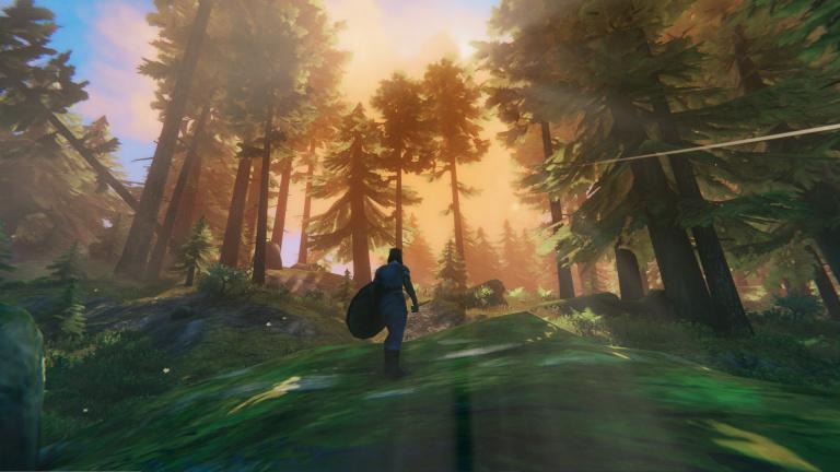Valheim : Un joueur recrée le Haut-Hrothgar (Skyrim) dans le titre