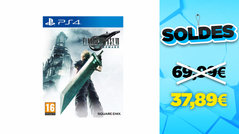 Soldes PS4 : Final Fantasy VII Remake en réduction à -45%