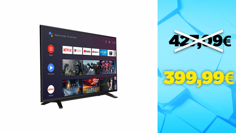 "Bon plan Toshiba : la TV Led 4K 55"" à moins de 400€"