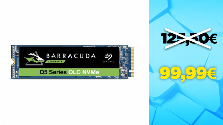 Bon plan Seagate : -25€ sur le SSD M.2 1To BarraCuda