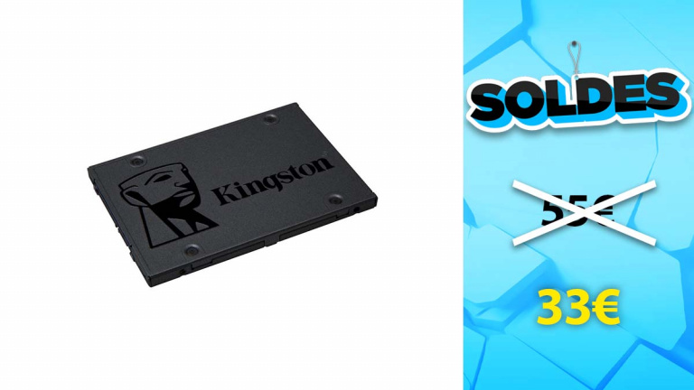 Soldes Kingston : SSD 120 Go en promotion de 39%