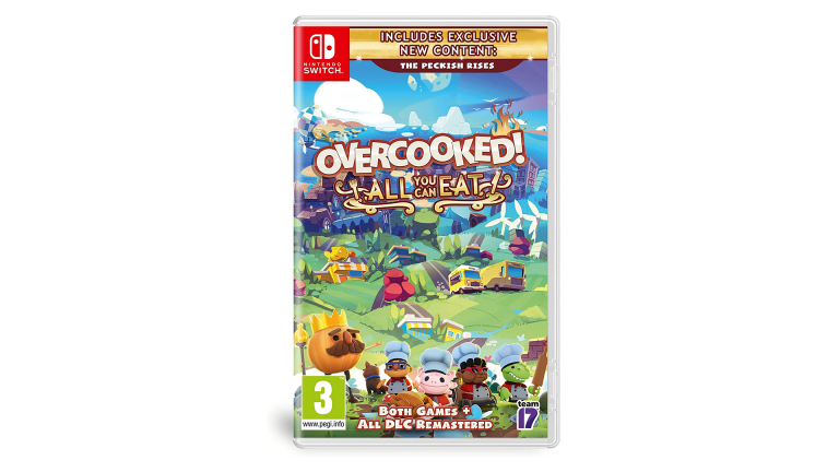 Précommande Amazon : Overcooked! All You Can Eat sur Nintendo Switch