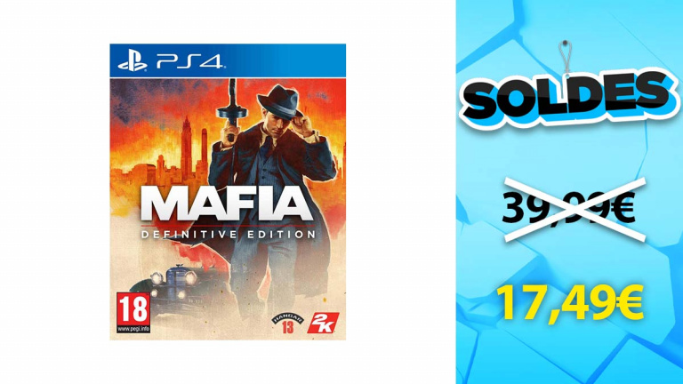 Soldes PS4 : Mafia Definitive Edition en forte baisse