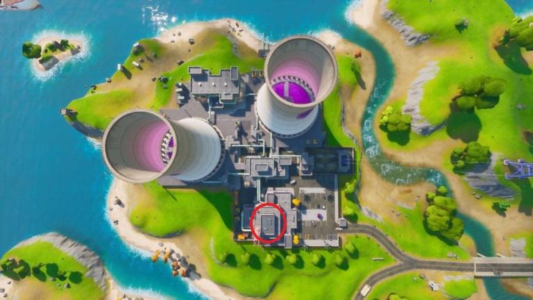 Fortnite, saison 5 : se baigner dans le bassin violet de Steamy Stacks
