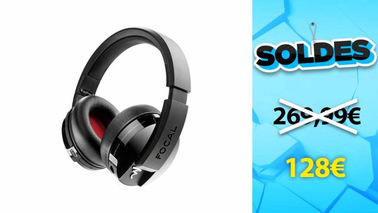 Soldes Focal : Le casque audio LISTEN WIRELESS en forte baisse de prix