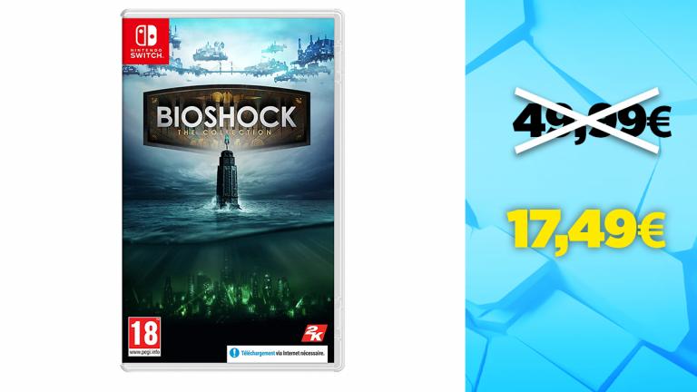 Bon plan Nintendo Switch : -65% sur Bioshock : The Collection