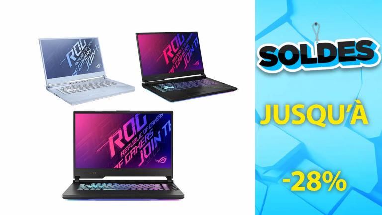 Soldes ASUS : Les PC Gaming ROG RTX en promotion de plusieurs centaines d'euros