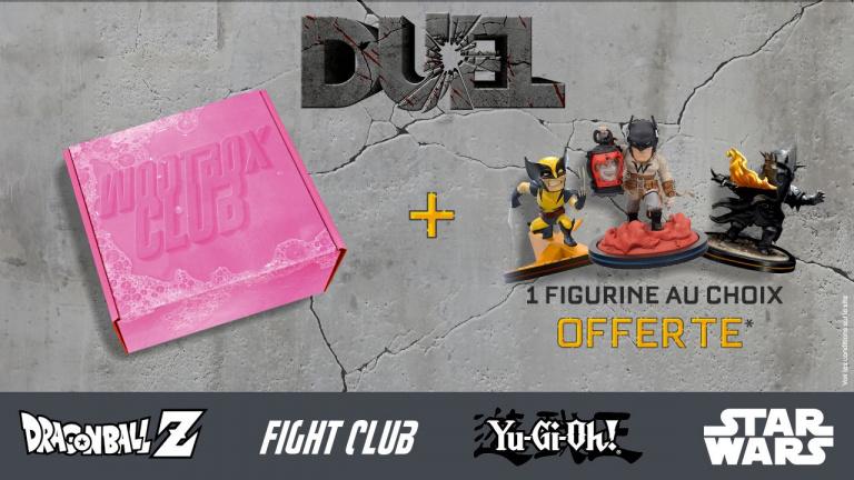 Wootbox : C'est l'heure du Duel et 1 box achetée = 1 figurine offerte en ce moment !