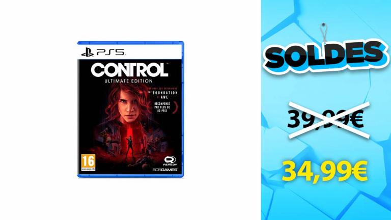 Soldes PS5 : Control Edition Ultimate au meilleur prix chez Cultura
