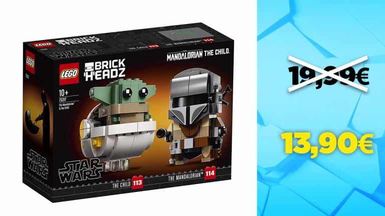 Bon plan LEGO : Le Mandalorien et l'Enfant en réduction à -30%