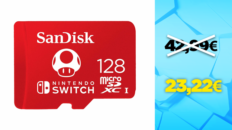 Bon plan SanDisk : -44% sur la carte microSD 128Go
