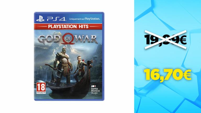 Bon plan PS4 : -16% sur God of War