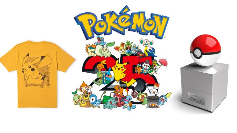 25 ans de Pokémon : la réplique de la PokéBall et son T-shirt offert