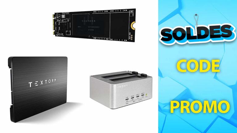 Soldes Textorm : Une sélection de SSD externe et NVMe en promotion chez LDLC