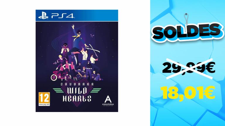 Soldes 2021 : Sayonara Wild Hearts pour PS4 à prix réduit