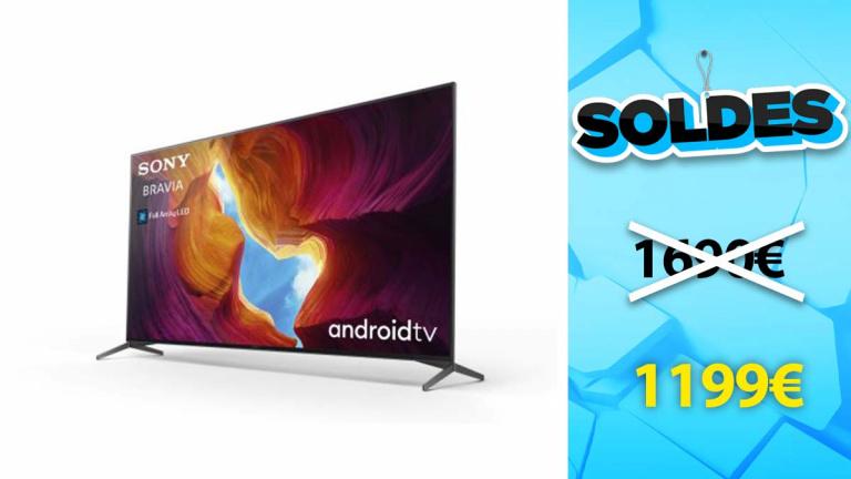 """Bon plan Sony : la TV 55"""" 4K UHD en réduction à -29%"""