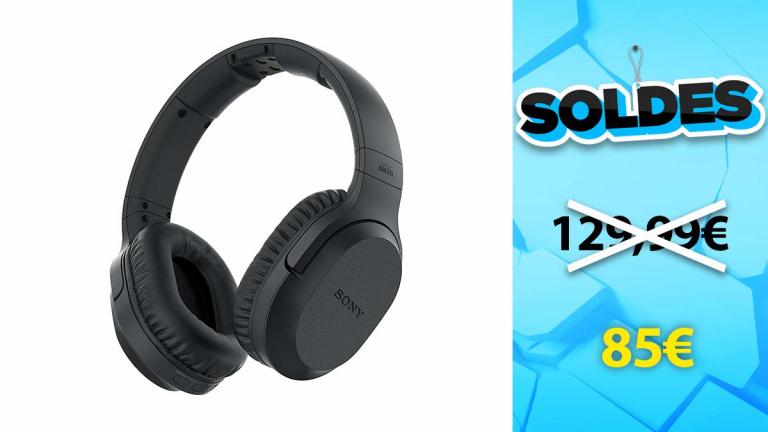 Soldes Sony : Casque Audio TV à suppression de bruit en promotion