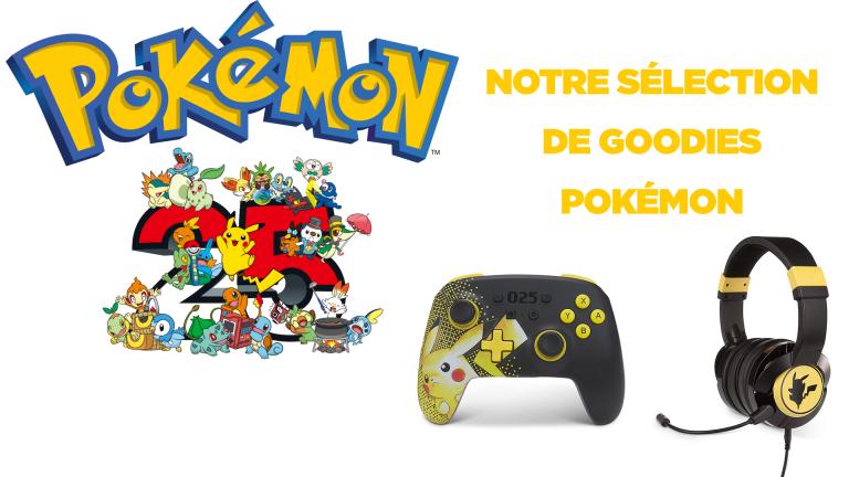 Notre sélection de goodies Pokémon