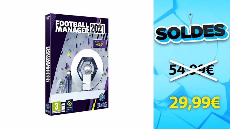 Soldes PC : Football Manager 2021 Limited Edition en promotion de 45%