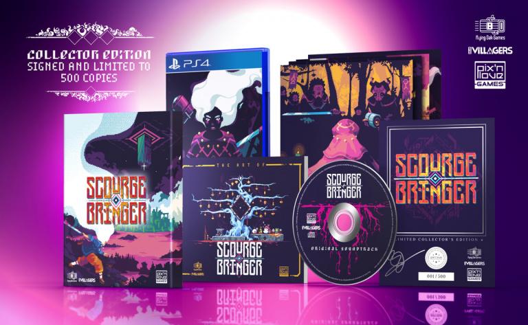 ScourgeBringer s'annonce sur PS4 et PS Vita