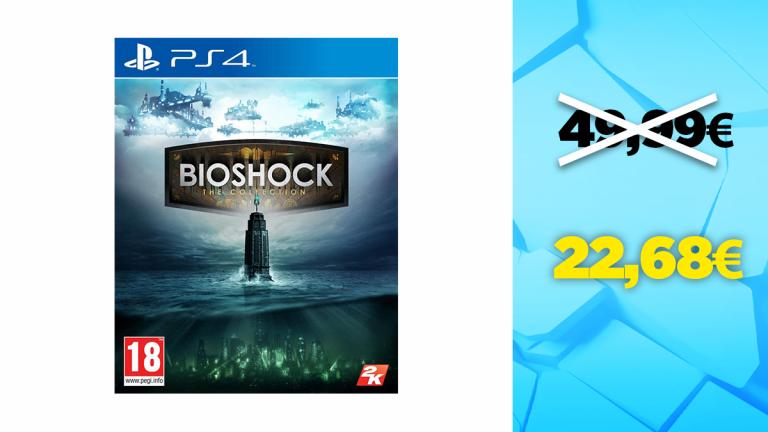 Bon plan PS4 : Bioshock : The Collection à -55%