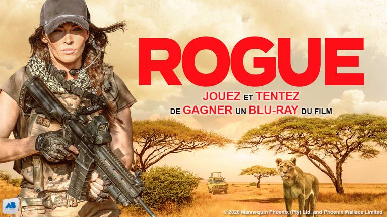 Jouez et tentez de gagner un Blu-Ray du film ROGUE