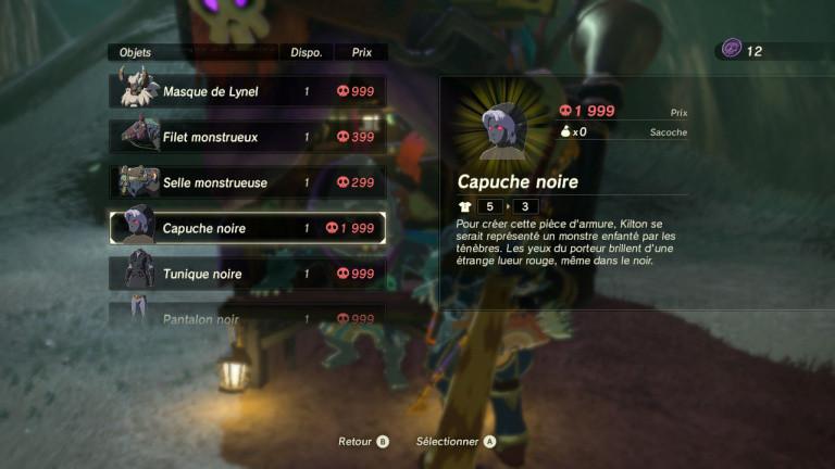 Comment obtenir le set de Dark Link