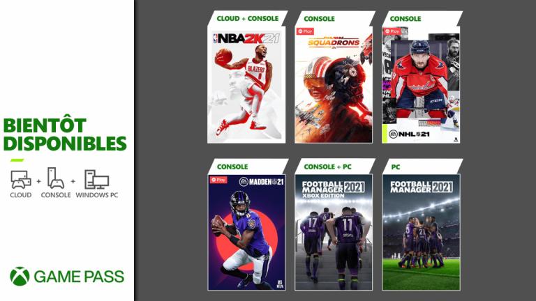 Xbox Game Pass : NBA 2K21 arrive dans le catalogue console et cloud