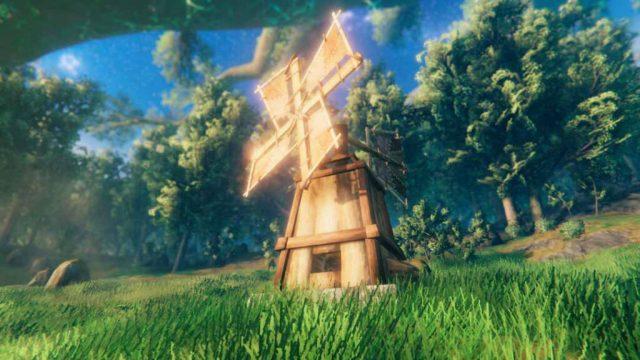 Valheim, guide : la construction du moulin