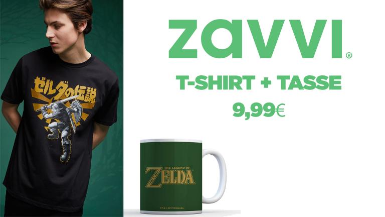 Le bundle T-shirt + tasse à 9,99€