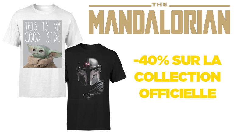 The Mandalorian : -40% sur la collection de vêtements officiels