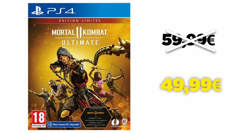 L'édition limitée de Mortal Kombat 11 à moins de 50€