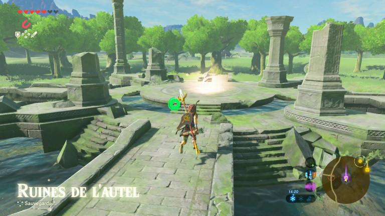 Où trouver le souvenir de Link n°1 ?