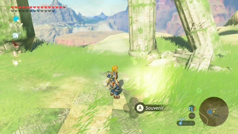 Où trouver le souvenir de Link n°3 ?