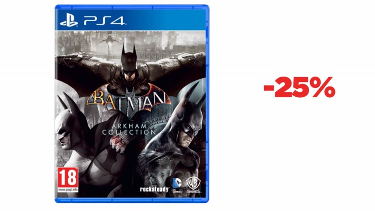 Bon plan PS4 : la compilation de Batman Arkham Collection en réduction à -25%