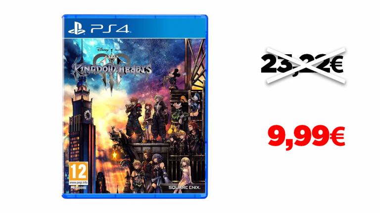Kingdom Hearts III à moins de 10€