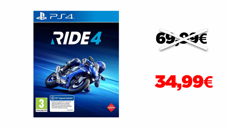 -50% sur Ride 4 sur PS4