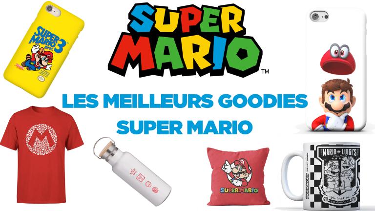Les meilleurs goodies Super Mario
