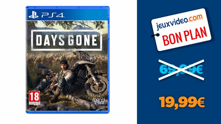 Bon plan PS4 : Days Gone en réduction à -71%