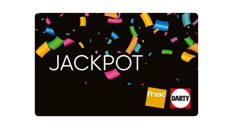 Les cartes Jackpot sont de retour chez la fnac !