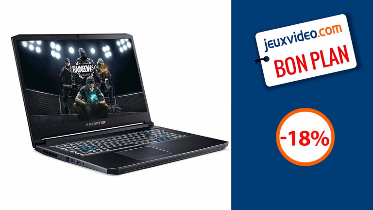 PC Portable Gaming Acer Predator RTX 3080 en promotion de 18%