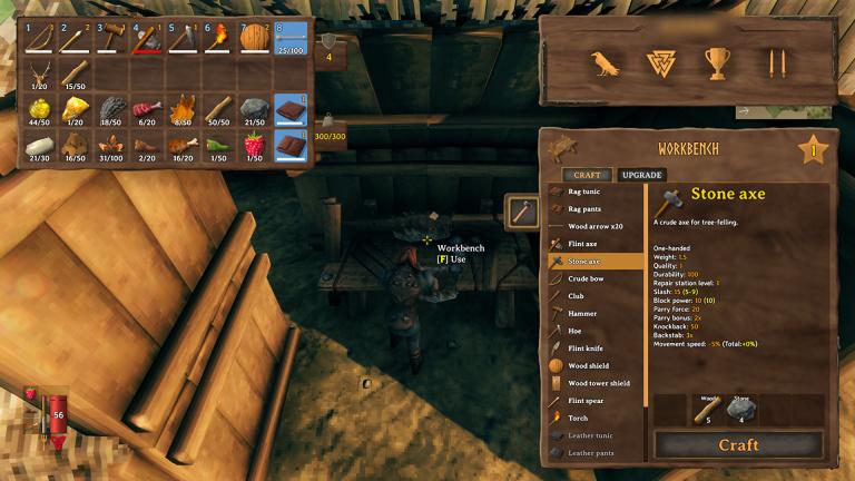 Valheim, guide : comment réparer armes et outils?