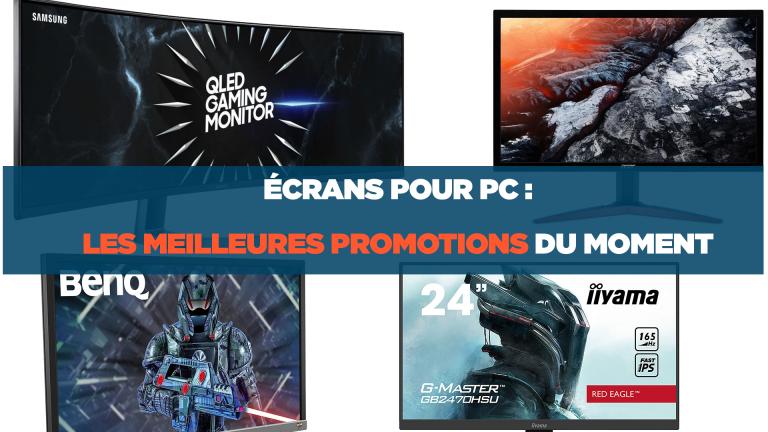 Ecrans pour PC : les meilleures promotions du moment